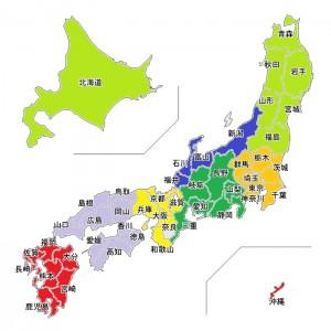 日本地図c